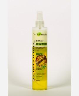 Кондиционер для волос La Fabelo organic двухфазный спрей с органическим экстрактом бамбука, маслом арганы и макадамии 250мл