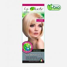 Крем-краска для волос пепельно-платиновый блонд, био 50мл тон 12.32 La Fabelo Professional