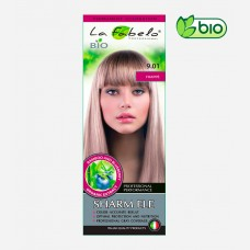 Крем-краска для волос био 50мл тон 9.01 La Fabelo Professional
