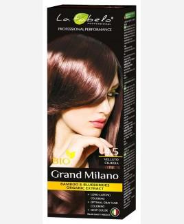Крем-краска для волос био 100мл тон 4.5 La Fabelo Professional