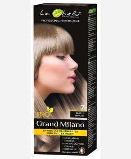 Крем-краска для волос био 100мл тон 7 La Fabelo Professional