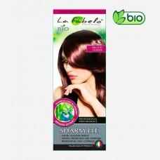 Крем-краска для волос био 50мл тон 4.5 La Fabelo Professional