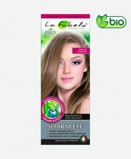 Крем-краска для волос светло-русый цвет, био 50мл тон 7 La Fabelo Professional