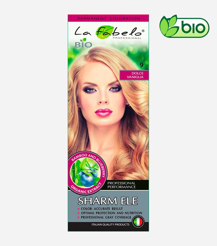 Крем-краска для волос блонд, био 50мл тон 9 La Fabelo Professional