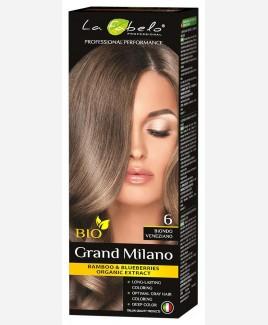 Крем-краска для волос русый цвет, био 100мл тон 6 La Fabelo Professional