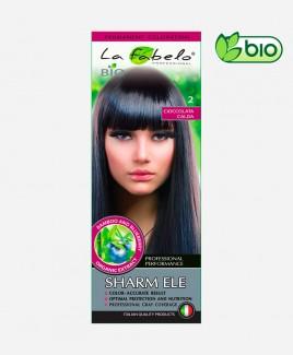 Крем-краска для волос био 50мл тон 2 La Fabelo Professional: темно коричневая краска для волос