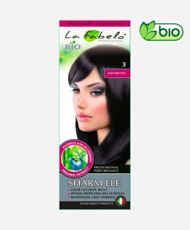 Крем-краска для волос темный каштан био 50мл тон 3 La Fabelo Professional