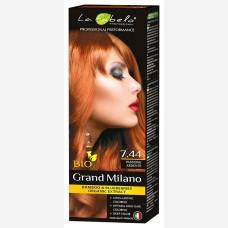 Крем-краска для волос био 100мл тон 7.44 La Fabelo Professional