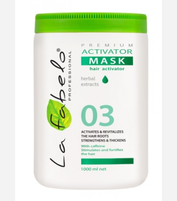 Маска La Fabelo Premium 03 Activator активатор роста волос 1000мл