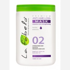 Маска La Fabelo Premium 02 Anti Hair Loss против выпадения волос 1000мл