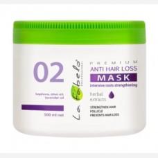 Маска La Fabelo Premium 02 Anti Hair Loss против выпадения волос 500мл