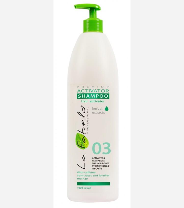 Шампунь La Fabelo Premium 03 Activator активатор роста волос 1000мл