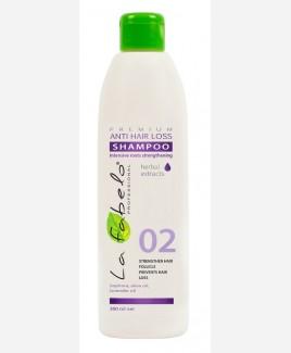 Шампунь La Fabelo Premium 02 Anti Hair Loss против выпадения волос 300мл