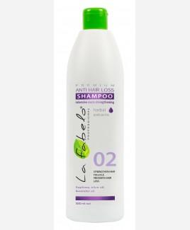 Шампунь La Fabelo Premium 02 Anti Hair Loss против выпадения волос 500мл