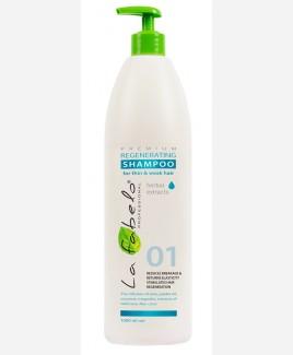 Шампунь La Fabelo Premium 01 Regenerating регенирирующий для тонких и слабых волос 1000мл