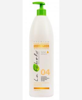 Шампунь La Fabelo Premium 04 Hair Repair восстановление для сухих и окрашенных волос 1000мл
