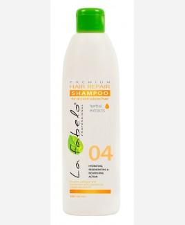 Восстанавливающий шампунь для сухих и окрашенных волос La Fabelo Premium 300мл